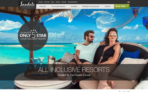 All Inclusive Resorts & Caribbean Vacation Packages | Sandals
