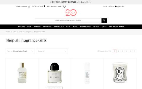 Shop Gifts - Gifts by Category - Fragrance Gifts | MECCA