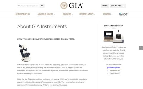 GIA Instruments
