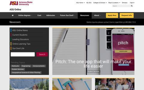 Newsroom | ASU Online News and Information
