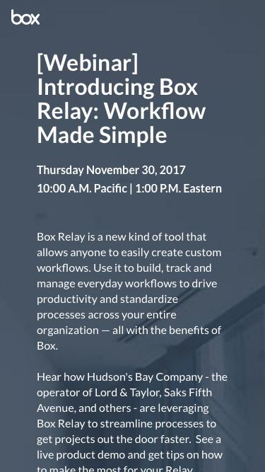 Introducing Box Relay: Workflow Made Simple