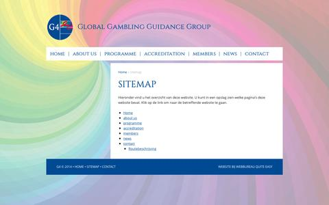 Screenshot of Site Map Page gx4.com - Sitemap - captured Sept. 27, 2015