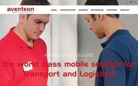 Screenshot of Press Page aventeon.com - news   Aventeon - captured July 13, 2018