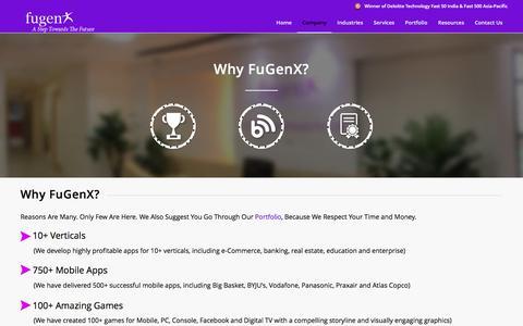 Why FuGenX