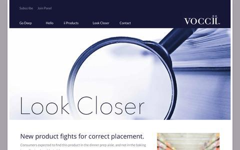 Screenshot of Case Studies Page voccii.com - Case Studies - Voccii - captured Sept. 23, 2016