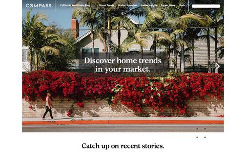 Screenshot of Blog pacificunion.com - California Real Estate Blog - captured Nov. 21, 2018