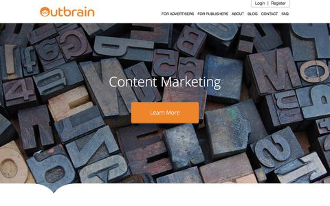 What is Content Marketing- The Full Guide | Outbrain.com
