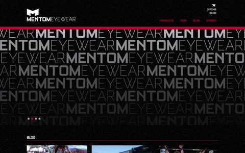 Screenshot of Home Page mentom.com - Home - mentom.com - captured Feb. 4, 2016