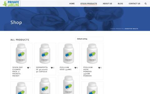 Digestive Health Archives - Private Label Supplements and Vitamins