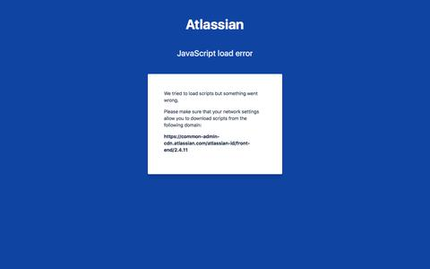Log in with Atlassian account