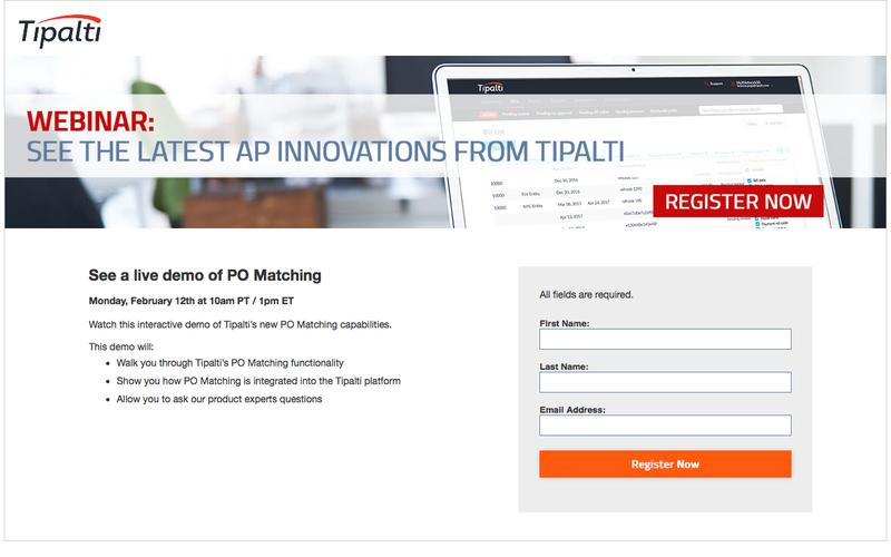 Webinar: See PO Matching in Action