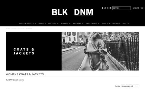 WOMENS    LUXURY LEATHER JACKETS & COATS       – BLK DNM