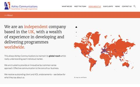 Screenshot of About Page ashleycomms.com - About - Ashley Communications - captured Nov. 19, 2016