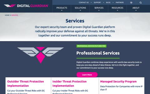 Data Loss Prevention & Information Security Services Overview | Digital Guardian