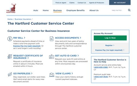 The Hartford Com Myaccount >> Finance Support Pages Website Inspiration And Examples