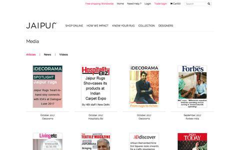 Articles : Jaipur Rugs