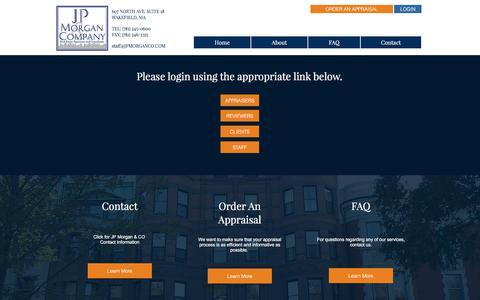 JP Morgan & Company Real Estate Appraisers & Consultants / MA | LOGIN
