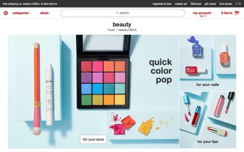 Beauty : Target
