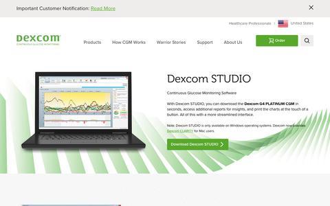 Dexcom Studio Glucose & Diabetes Management Software - Download Now! | Dexcom