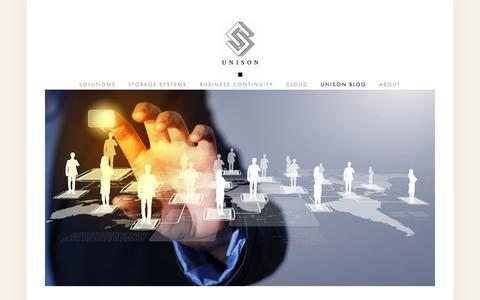Screenshot of Blog unisoninfo.com - Unison Blog — Unison Information Systems, Ltd. - captured Oct. 9, 2014