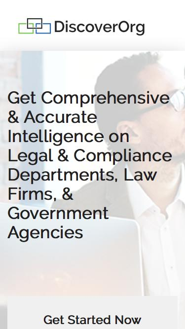 Business Intelligence on Legal contacts.