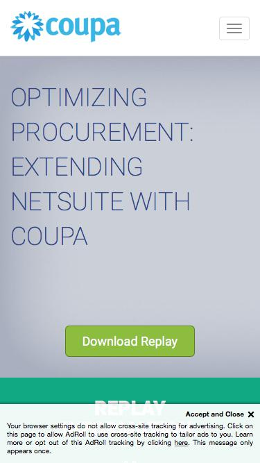 Optimizing Procurement - Webinar Replay