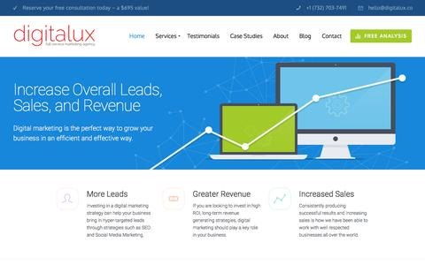 Digitalux: Digital Marketing Company & SEO Agency
