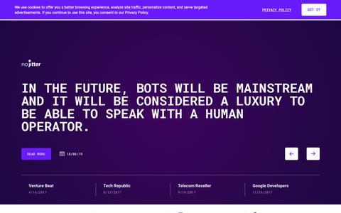 Screenshot of Press Page voximplant.com - Voximplant - Latest News & Press Coverage - captured June 24, 2019