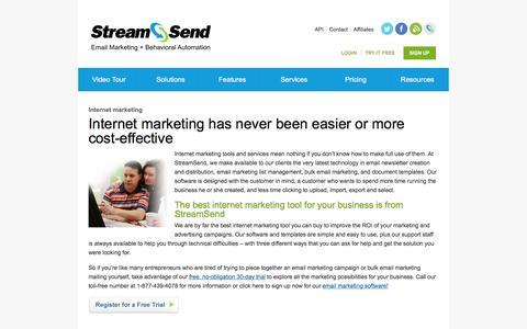 Internet Marketing Services - StreamSend