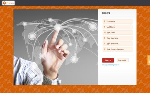 Screenshot of Signup Page projectmanagementgurus.com - PM Gurus - captured Oct. 1, 2014