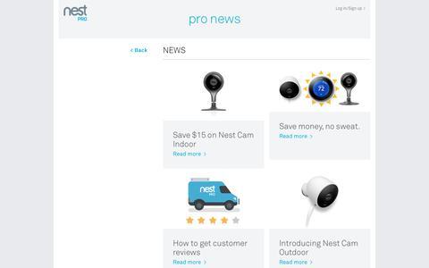 Pro News | Nest Pro