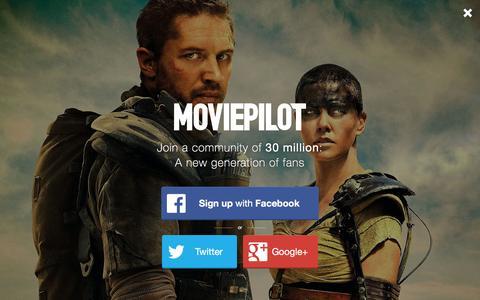 Screenshot of Login Page moviepilot.com - A New Generation of Fans | moviepilot.com - captured Dec. 4, 2015