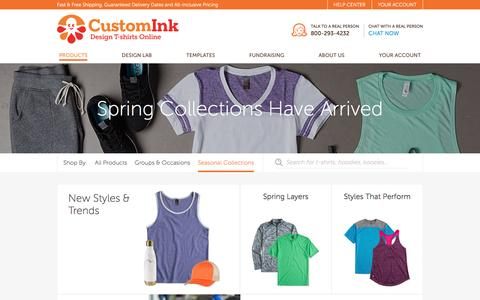 Spring Collections Have Arrived