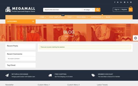 Screenshot of Blog propelle.co - Magento Commerce EM Blog - captured May 23, 2017