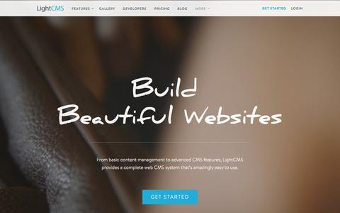 CMS, Website Builder, Content Management System | LightCMS