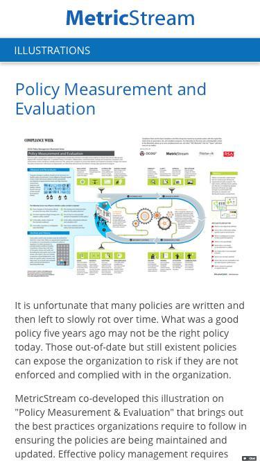 OCEG Policy Management Illustration