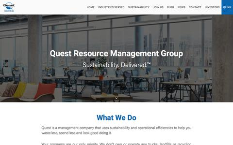 Home - Quest Resource Management Group, LLC