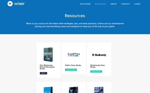 Resource Hub - Wiser Solutions, Inc.