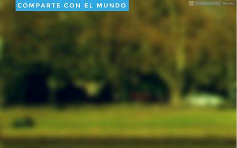 Screenshot of Blog wedivvyup.co - Comparte con el Mundo - captured Oct. 11, 2014