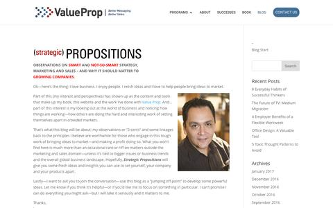 | Value Prop Interactive