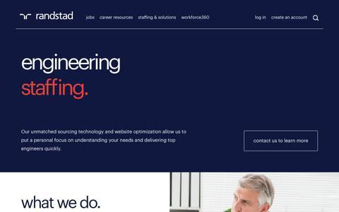 Engineering Recruitment | Randstad USA