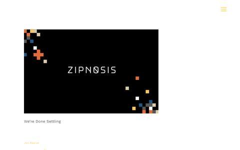 Screenshot of Blog zipnosis.com - Blog Archives | Zipnosis - captured Dec. 5, 2019