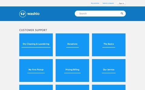 Screenshot of Support Page zendesk.com - Customer Support - captured Sept. 13, 2015