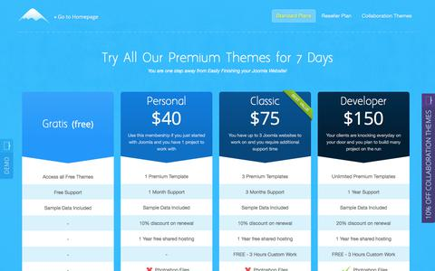 Screenshot of Pricing Page icetheme.com - Pricing   Join IceTheme Club - captured June 7, 2017