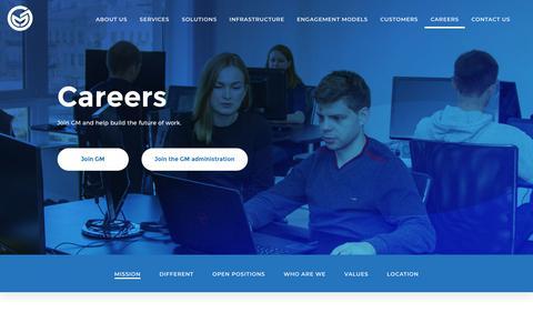 Screenshot of Jobs Page global-mediator.com - Global mediator - captured Dec. 21, 2018