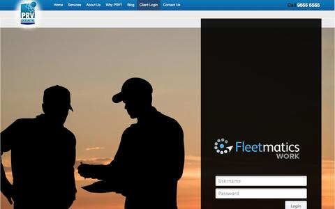 Screenshot of Login Page prvlocksmiths.com.au - Login to PRV Locksmith Customer Portal | PRV Locksmiths, Mascot  - Call 9555 5555 - captured Sept. 26, 2014