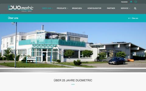 Screenshot of Team Page duometric.de - Über uns – DUOmetric AG - captured Nov. 23, 2016