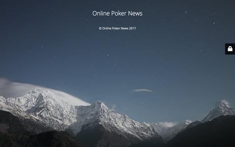Indian Poker News Portal | Online Poker News