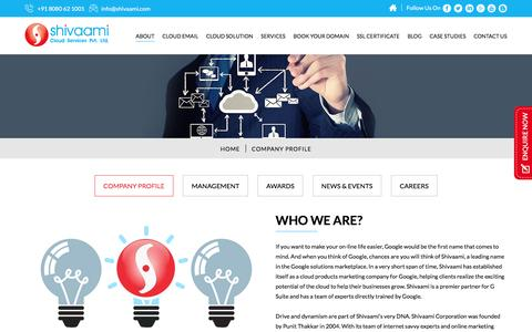 Shivaami Cloud Services Pvt Ltd – About Us