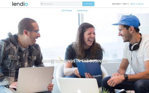 Screenshot of Team Page lendio.com - Lendio Team | Management Team | Lendio - captured Dec. 5, 2017